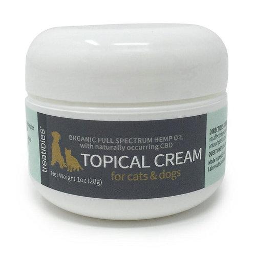 Organic Full Spectrum Hemp Oil Topical Cream – Feline and Canine