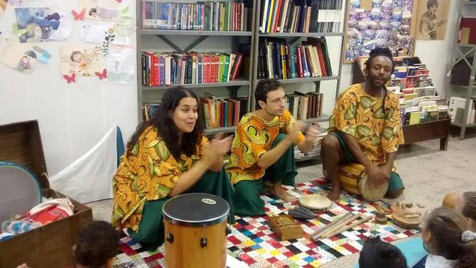 Apresentação na Biblioteca do CESA Vila Floresta