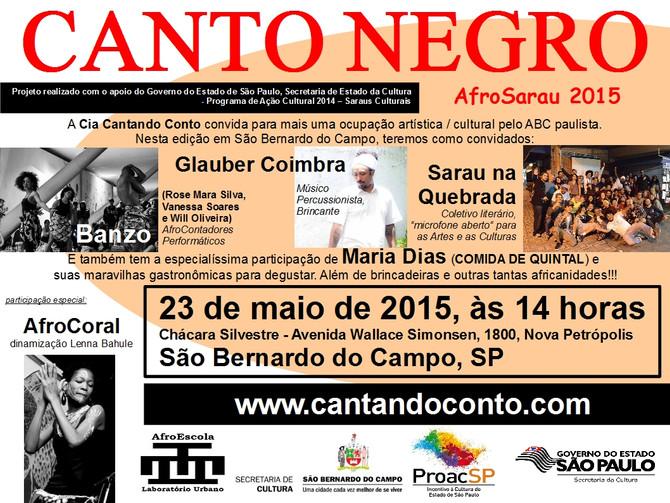 AfroSarau Canto Negro em São Bernardo do Campo