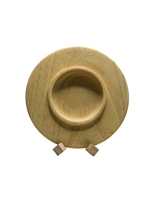 Деревянная тарелка (чаша)(арт.110)