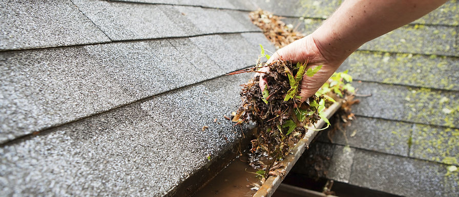 Essential home maintenance - clear your gutters