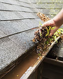 Knights Resources Cleaning a  Gutter repairs