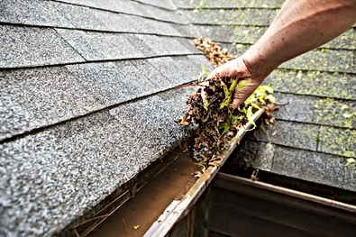 Eavestrough cleanouts