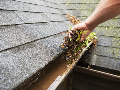 Clean Your Gutters to Prevent Mobile Home Damage