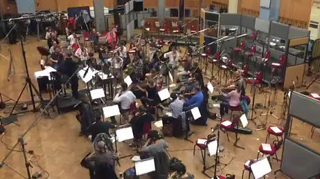 """London Symphony Orchestra recording """"Save Your Love For Me"""""""