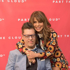 Paula and Donnie Part The Cloud Gala