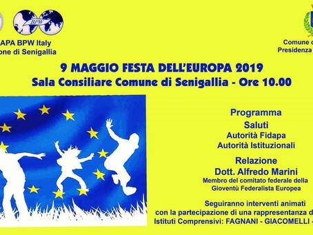 9 Maggio Festa dell'Europa: la Fidapa insieme ai giovani