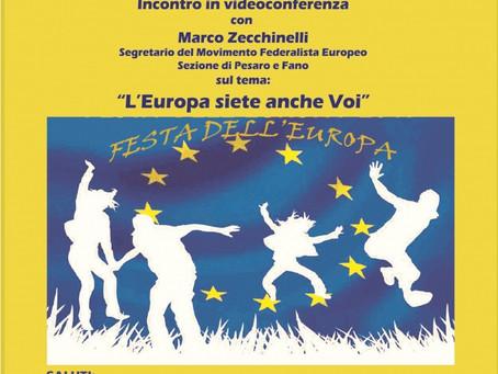 """""""L'Europa siete anche voi"""": un convegno per la Festa dell'Europa del 9 maggio"""