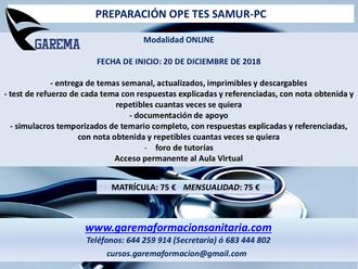 Ope TATS (TES) Samur-Protección Civil.