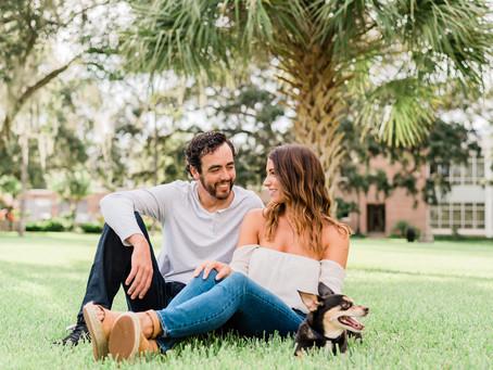 University of Tampa Engagement | Le Meridien Hotel | Jenn & Jeff