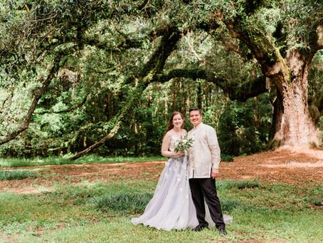 Lichgate Tallahassee Wedding | Amy & Rienne