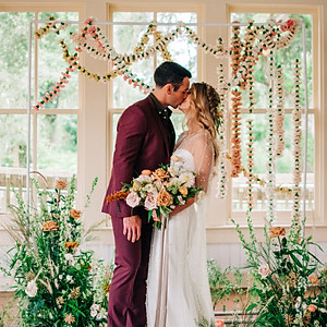 Styled Shoot: Floral Wedding