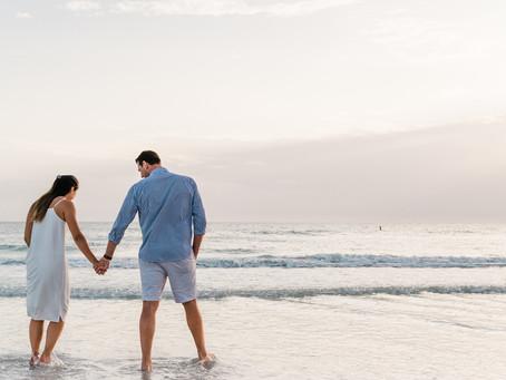 Siesta Key Beach Engagement Session | Sarasota, FL | Kristen & Lance