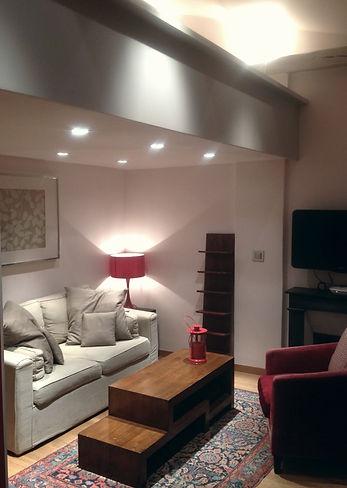 CUTCH design Salon et mezzanine studio rue Cretet Paris 9