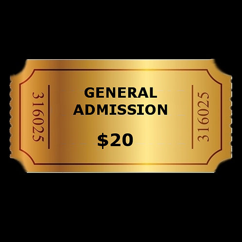 General Admission Saturday, Nov. 23, 2019 8:00PM