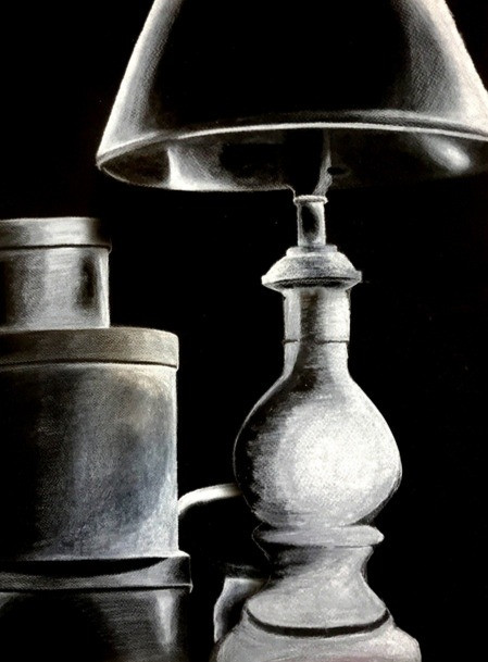 HS Drawing From the Shadows Still Life Project