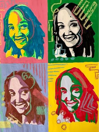 7th Art Pop Art Selfie Project