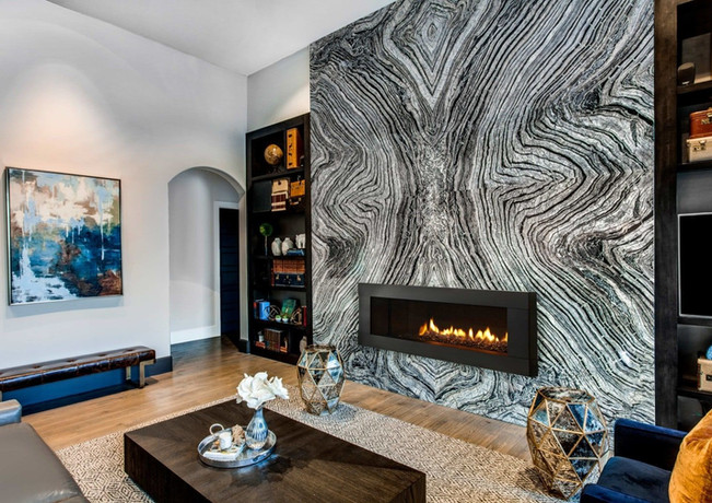 5 Show-Stopping Fireplaces Using Natural