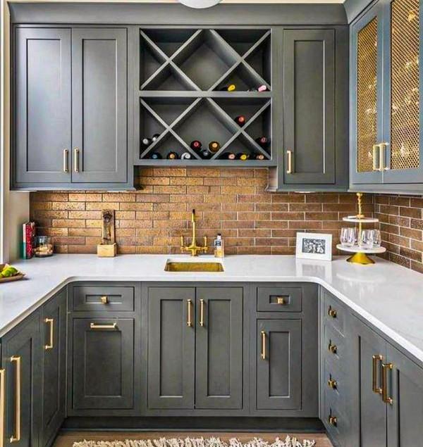 50+ Cute grey kitchen cabinets Design id
