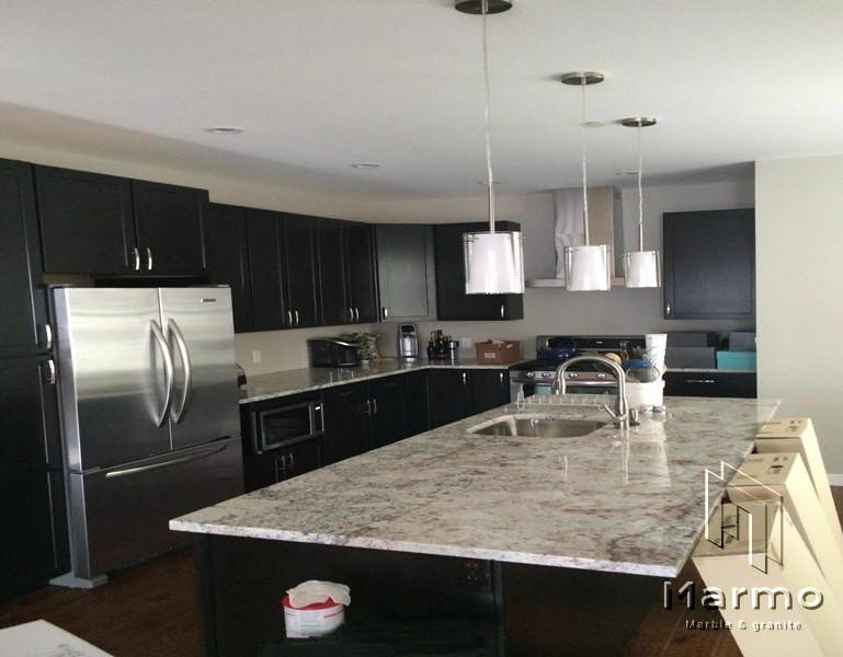 White-Galaxy-granite-kitchen-countertop-