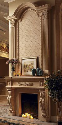 Seville Classic Stone Fireplace Mantel.j