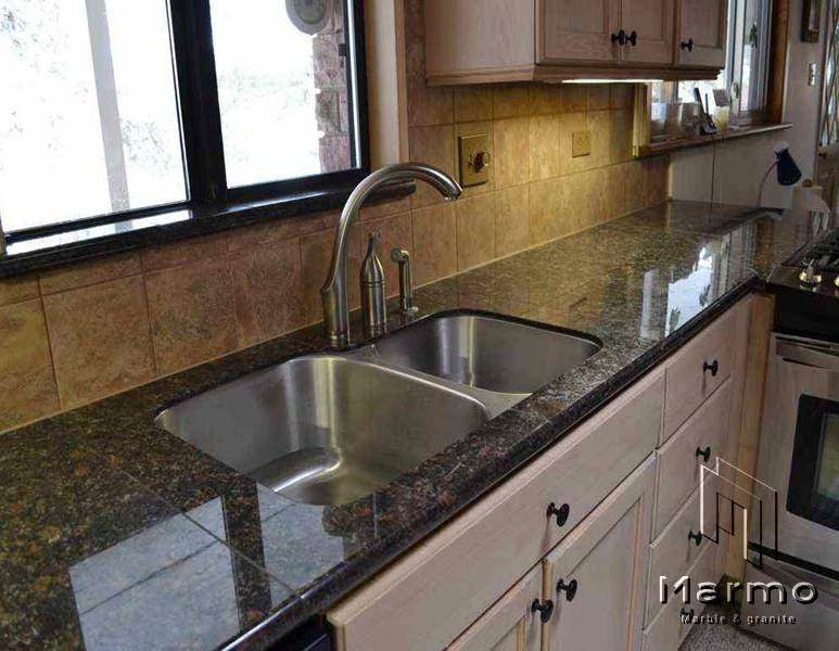 granite-tile-kitchen-countertop-tan-brow