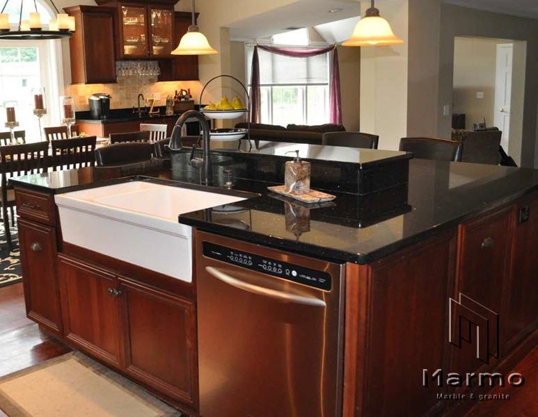 Black-Galaxy-Granite-Kitchen-Countertop-