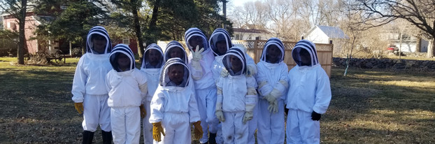 Bee keepers big and small