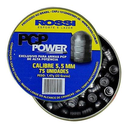 CHUMBINHO ROSSI PCP POWER 5.5 mm / 75 UNIDADES