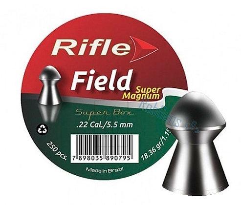CHUMBINHO RIFLE FIELD SUPER MAGNUM 5.5 mm / 250 UNIDADES