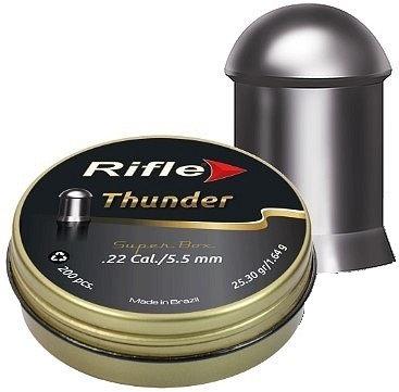 CHUMBINHO RIFLE THUNDER 5.5 mm / 200 UNIDADES