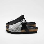 Bubble sandals black