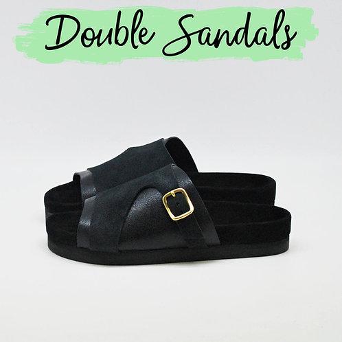 Double sandals