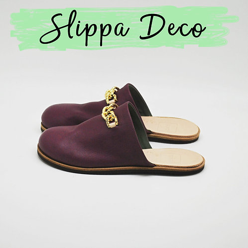Slippa deco purple