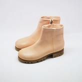 SAM zip boots natural