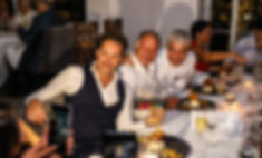 Juan Pablo Saloma, James Huges y Thierry Blouet