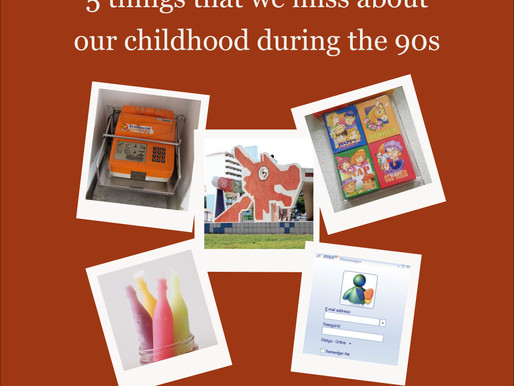 #TheOldSkoolCELEBRATE | 5 things that we miss about our childhood during the 90s