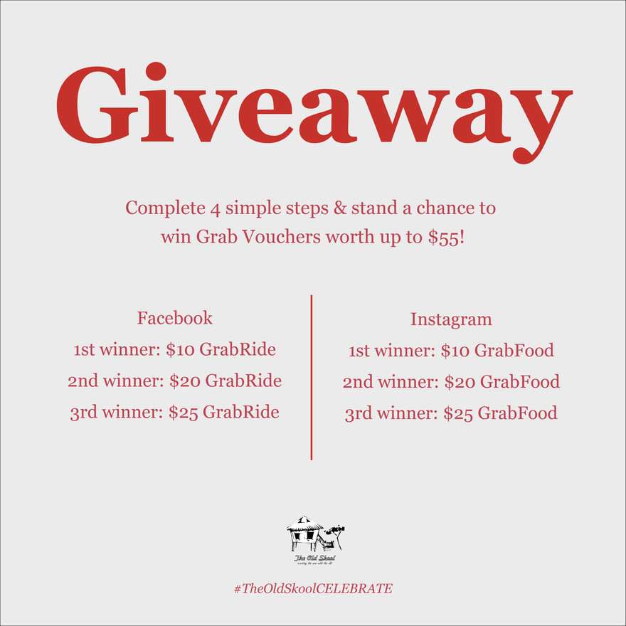 #TheOldSkoolCELEBRATE | Giveaway