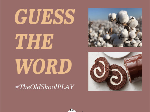 #TheOldSkoolPLAY | 2 pics 1 word