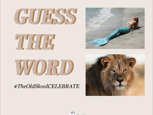 #TheOldSkoolCELEBRATE | 2 pics 1 word