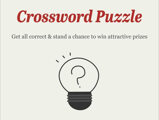 #TheOldSkoolCELEBRATE | Crossword Puzzle