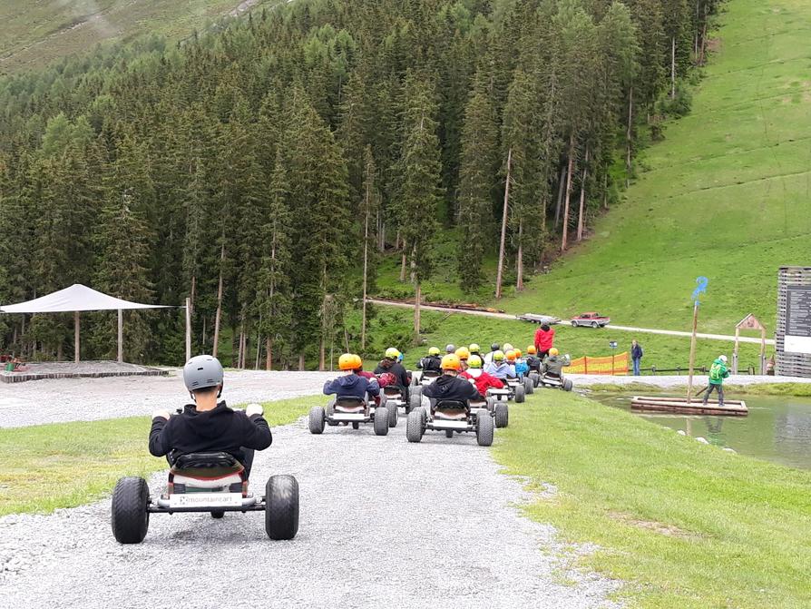 Klassenlager in Fendels im Tirol