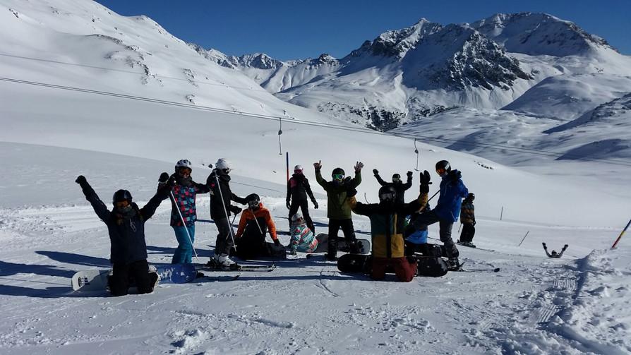 Schneesportlager Tschierv - Donnerstag