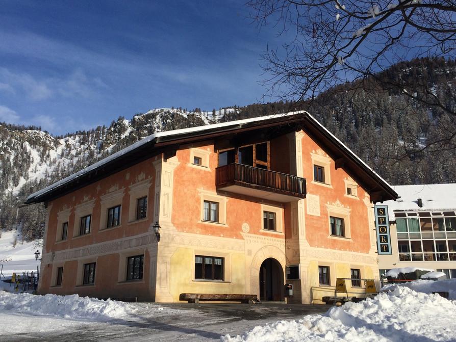 Schneesportlager Tschierv - Dienstag