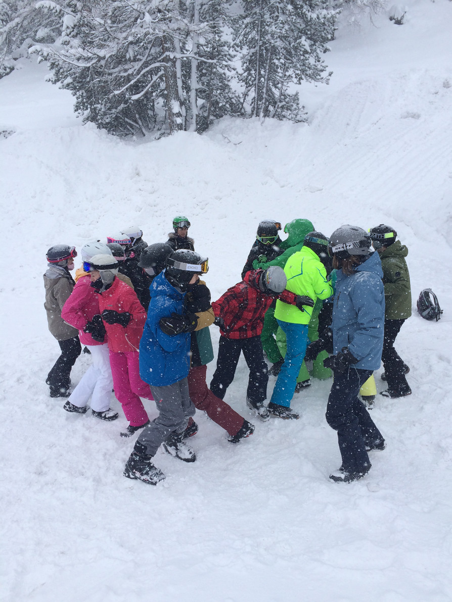Schneesportlager Tschierv - Mittwoch