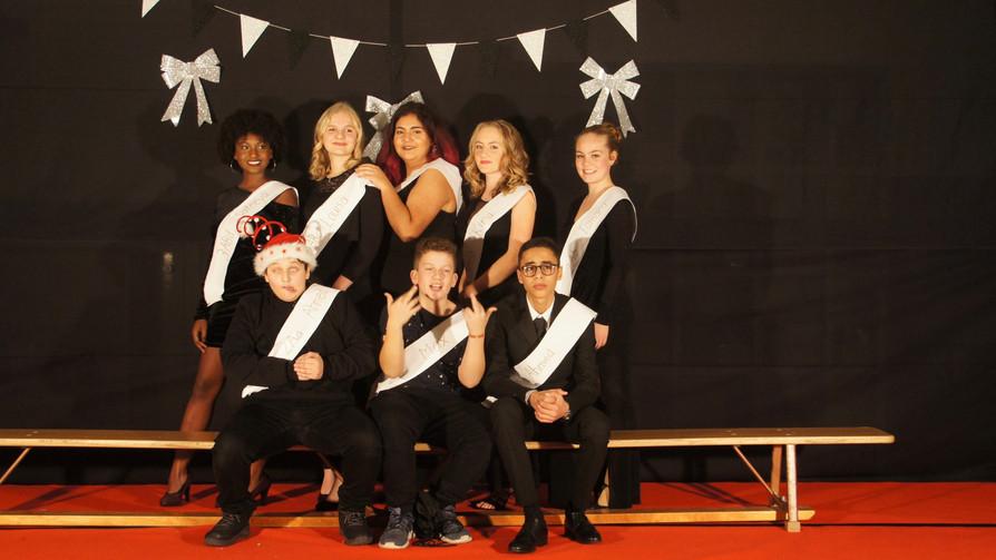 Fotos vom Schulsilvester im Schulhaus Heiligberg 2018