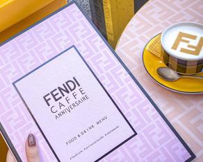 《東京スイーツ》期間限定のFENDI CAFEでフェンディの世界観に浸る♬