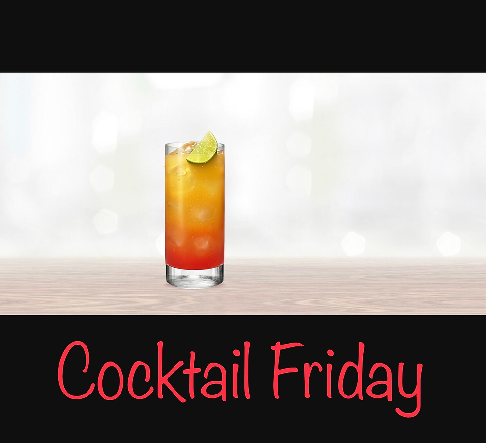 Electric Peach is a fantastic drink to get your Friday started