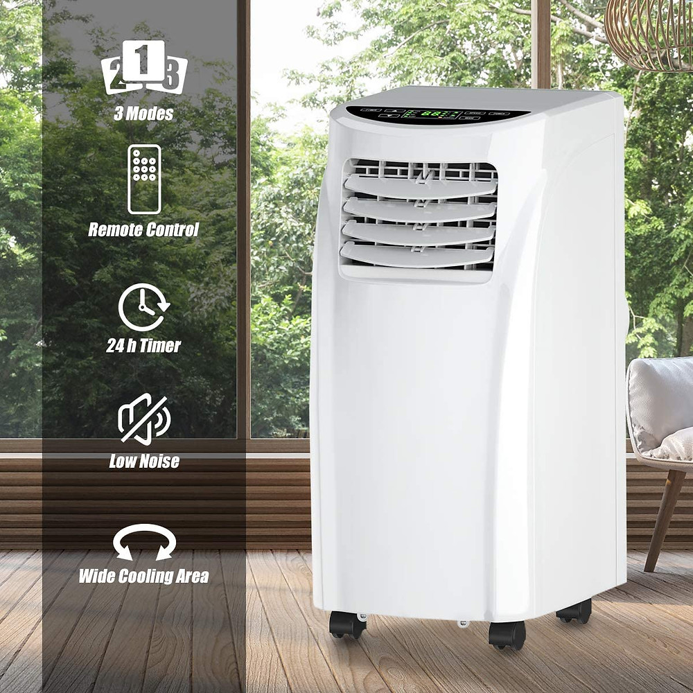Costway Portable A/C, best ac, best a/c, portable air conditioner