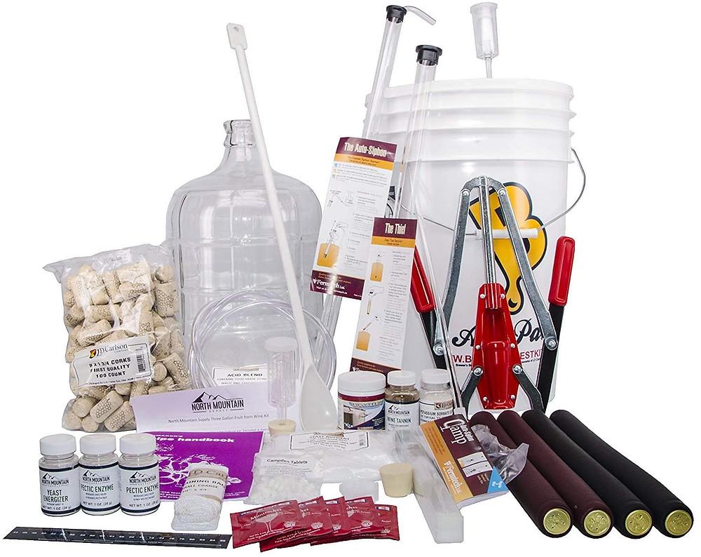 Best wine making kit of 2020, making wine, wine kit